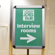Interview and offer jobs to nurses at the event and fill your vacancies quicker!
